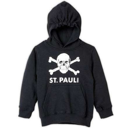 St. Pauli hettegenser for barn svart