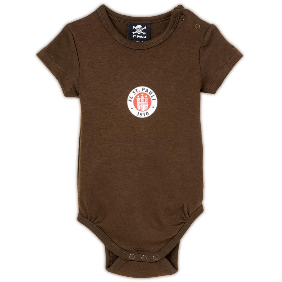 St. Pauli Baby Body braun