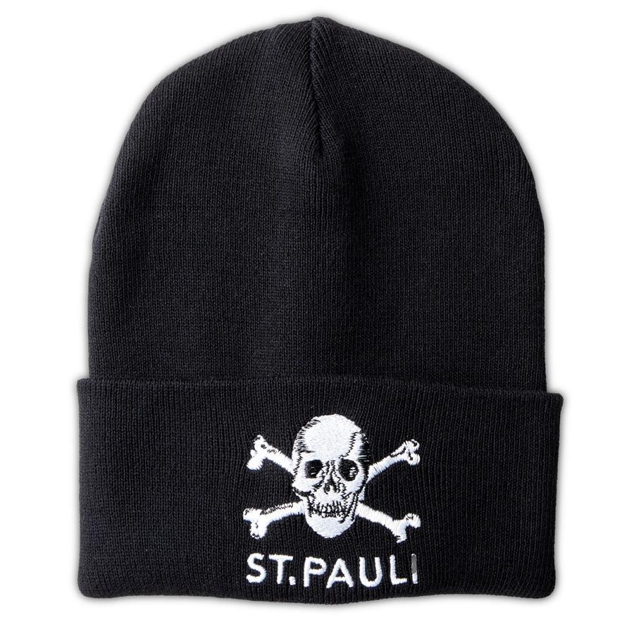 St. Pauli baby mutsje schedel
