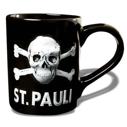 St. Pauli Tasse 3D Totenkopf