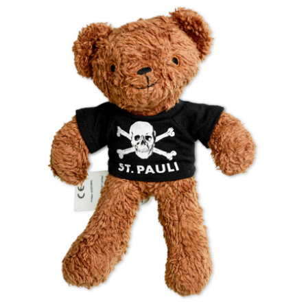 St. Pauli Teddy klein 24cm Totenkopf
