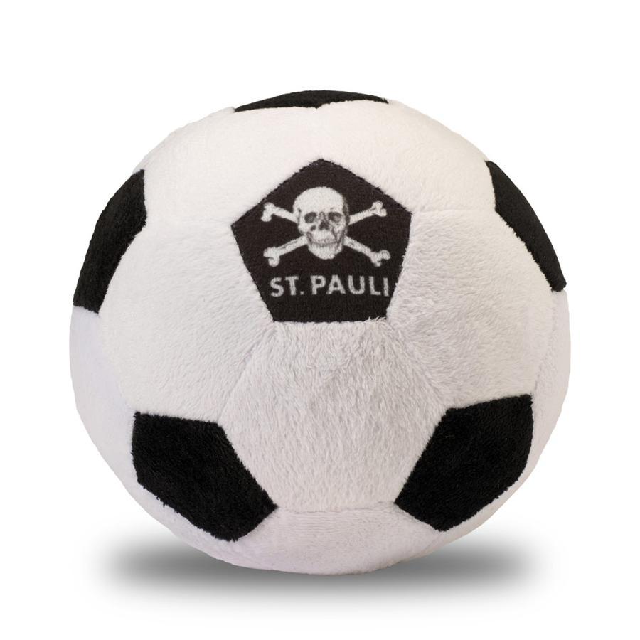 Plyšová koule s lebkou sv. Pavla