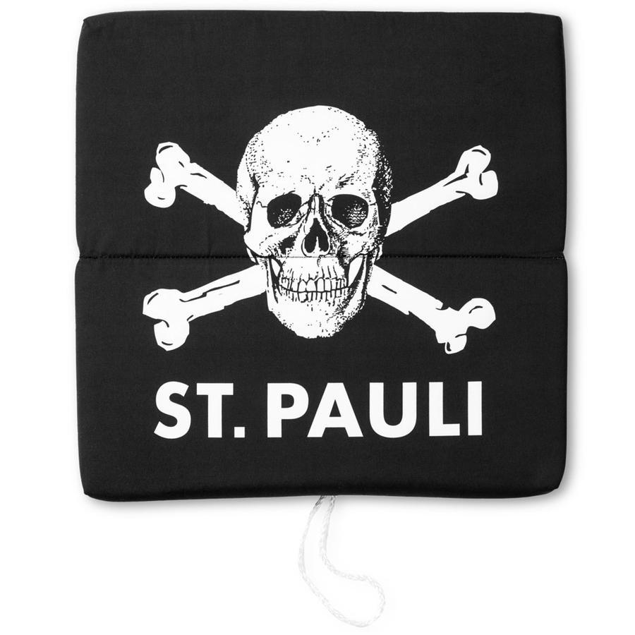 St. Pauli Sitzkissen Totenkopf