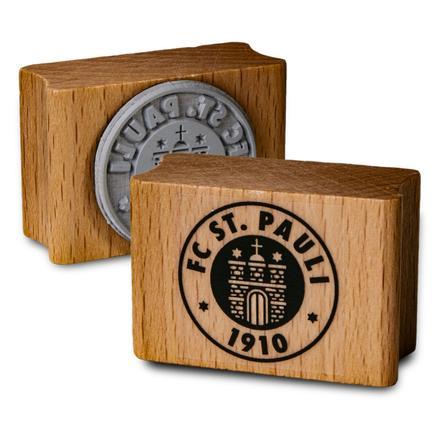 Lebka se známkou St. Pauli