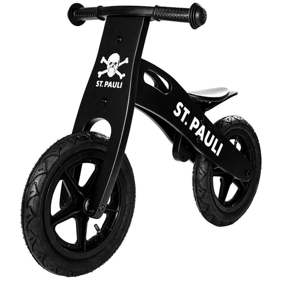 St. Pauli roue crâne bois