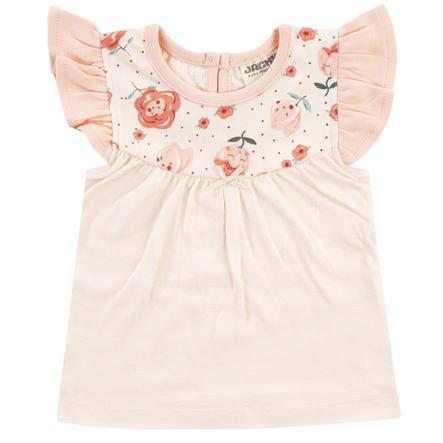 JACKY Tričko MID SUMMER off- white / růžové vzorované