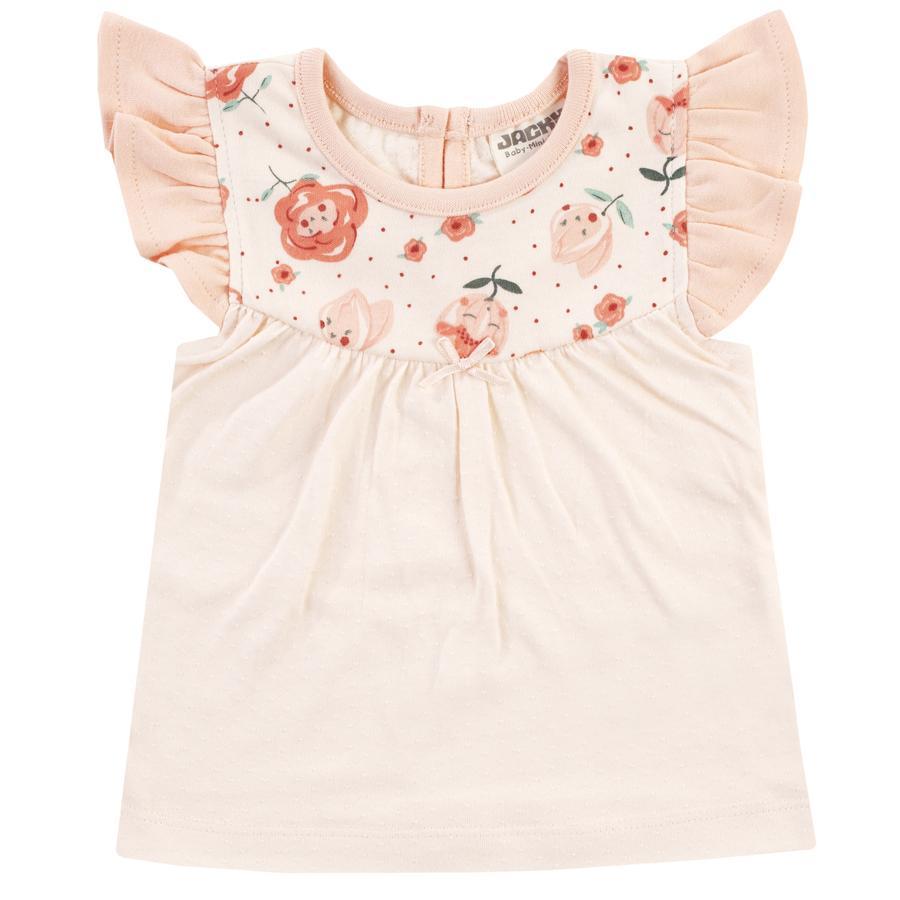 JACKY T-Shirt MID SUMMER off- white / rose à motifs