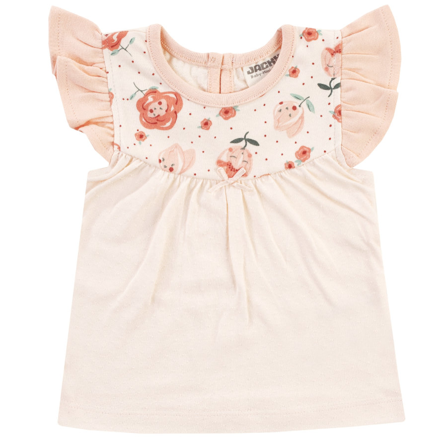 JACKY T-Shirt MIDSUMMER off-white/ rosa gemustert