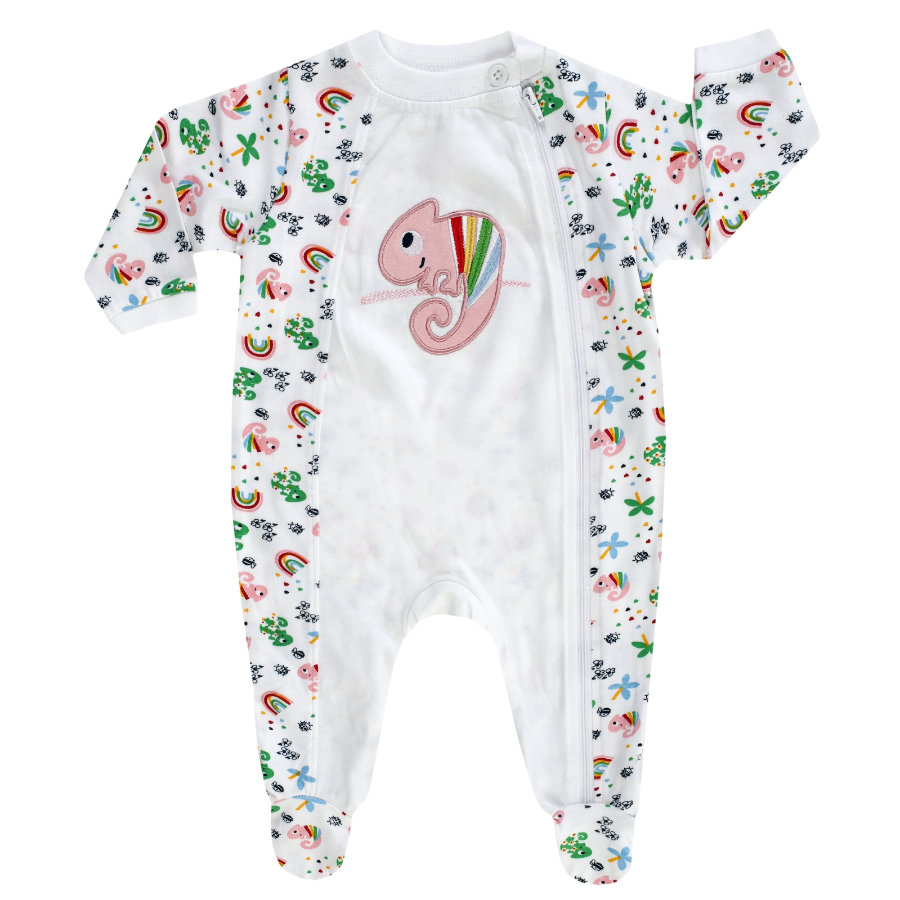 JACKY pyjama 1-delig COLOUR UP MY LIFE wit / allover bedrukt