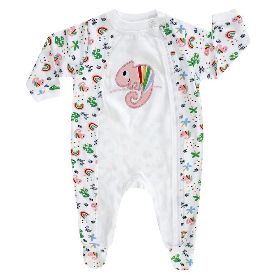 JACKY pyjama 1 pièce COLOUR UP MY LIFE blanc / allover imprimé