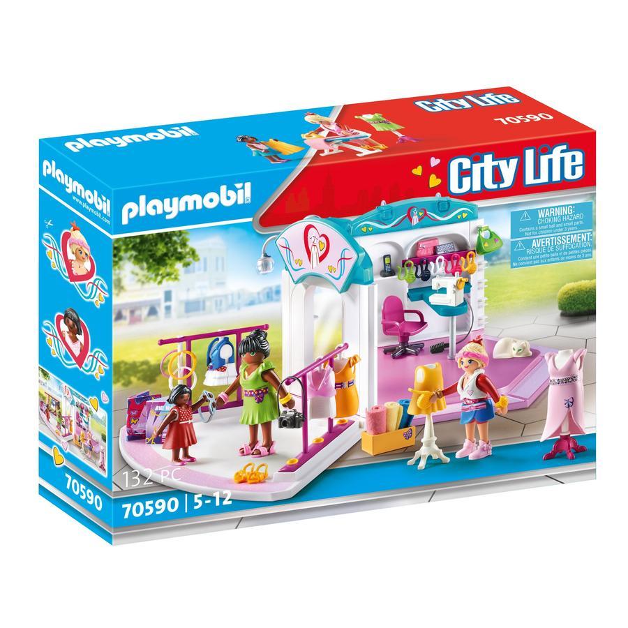 PLAYMOBIL® City Life Fashion Design Studio 70590