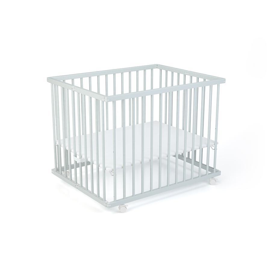geuther lawalu Leon box 75 x 95 cm grijs / uni wit