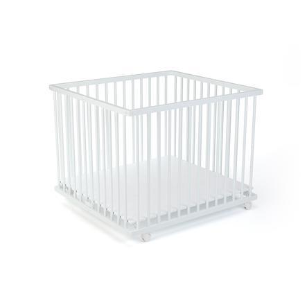 LaWaLu by geuther Box Leonie 88 x 95 cm bianco / uni bianco