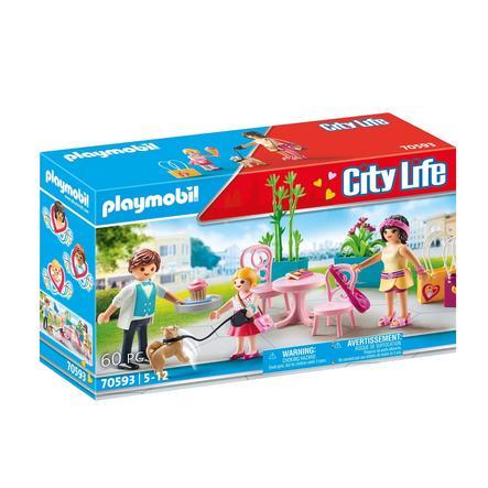 PLAYMOBIL® City Life Kaffeepause