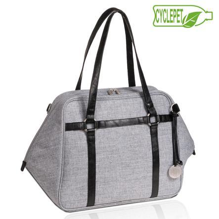 "LÄSSIG Urban Bag "" Green Label"" - Grigio"