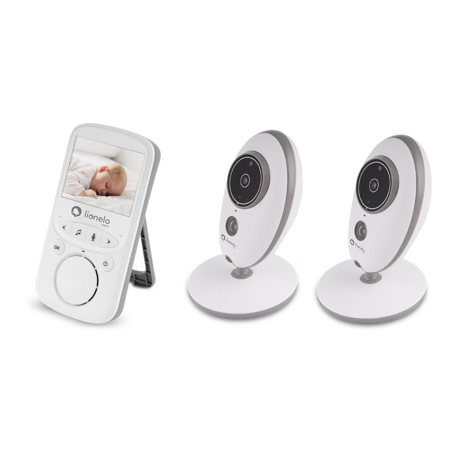 lionelo Babyphone Babyline 5.1 White