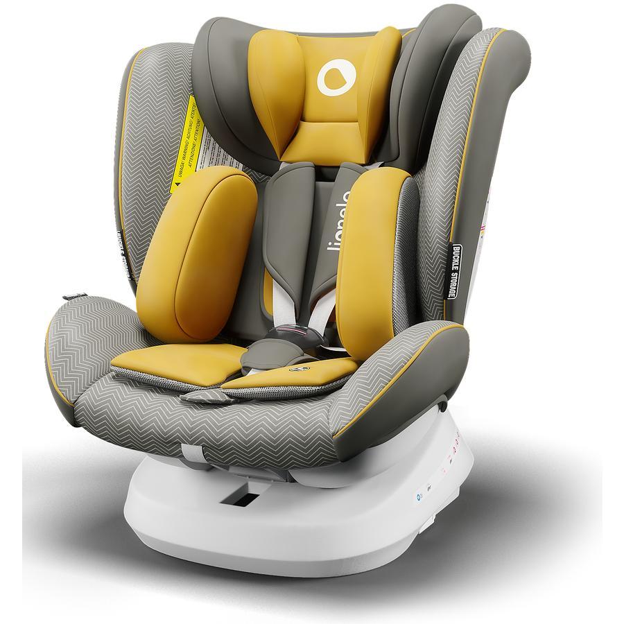 lionelo Silla de coche evolutiva giratoria gr.0+/1/2/3 Bastiaan One Yellow Mustard