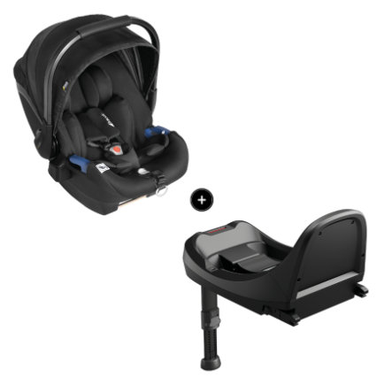 hauck Select Baby i-Size Set Black / Black