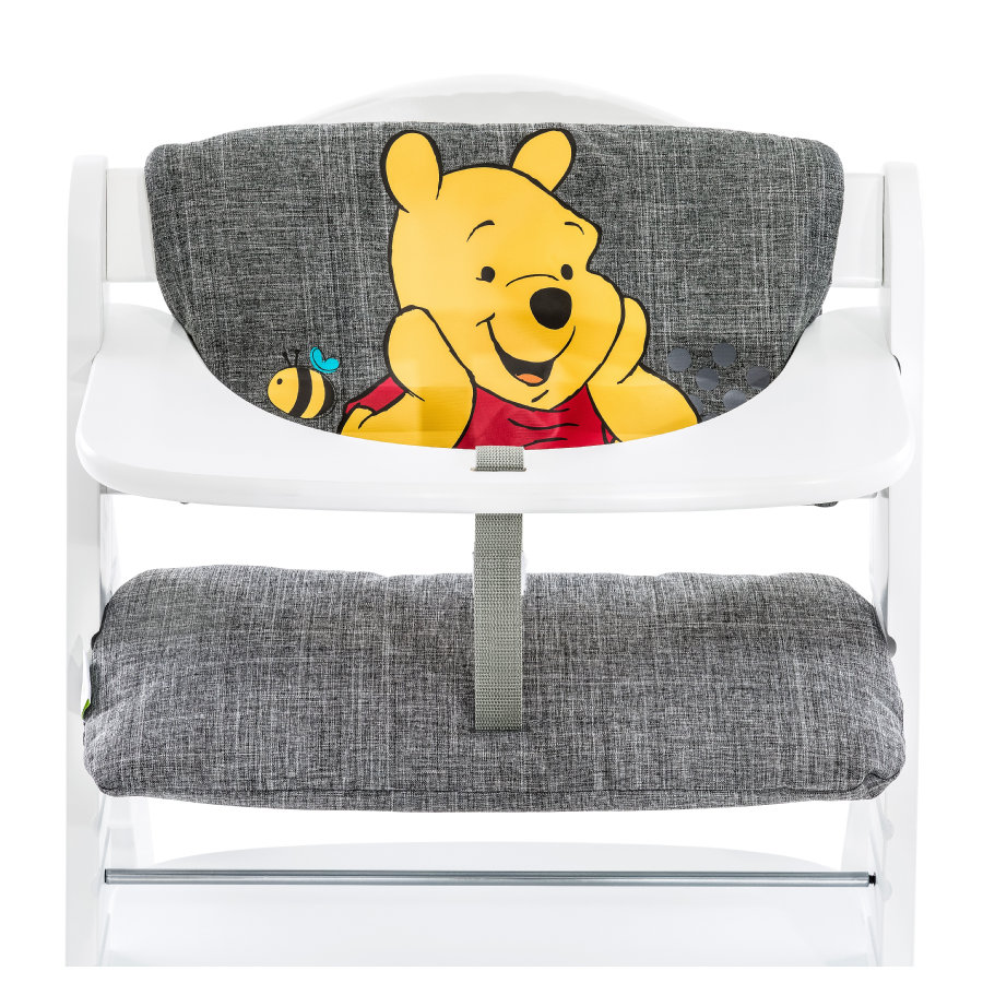 hauck Coussin d'assise pour chaise haute enfant Deluxe Winnie l'Ourson, gris