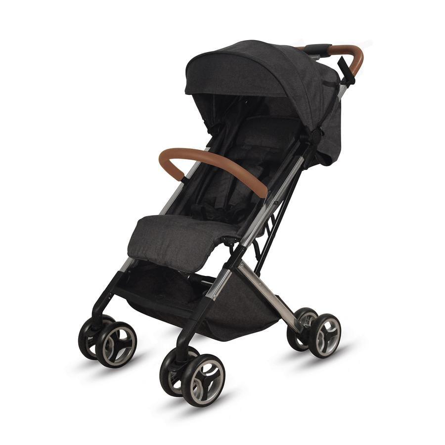 knorr-baby Kinderwagen S-Easy-Fold Zwart Cognac