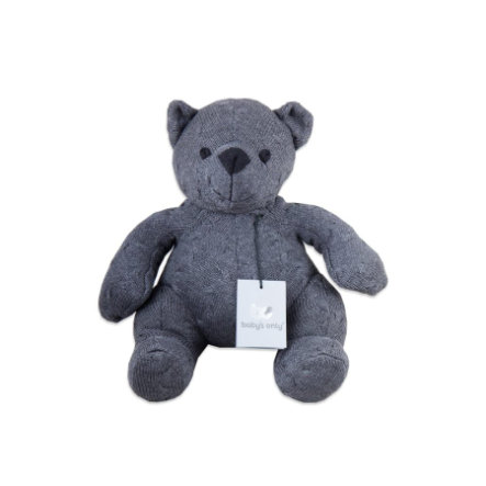 baby's only Kuscheltier Bär Cable anthrazit, 35 cm