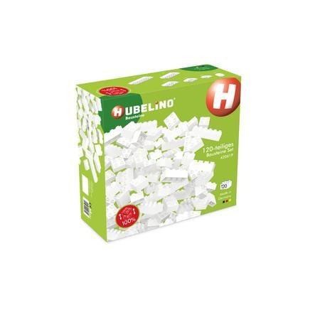 HUBELINO® Bausteine - 120 teiliges Set, weiß