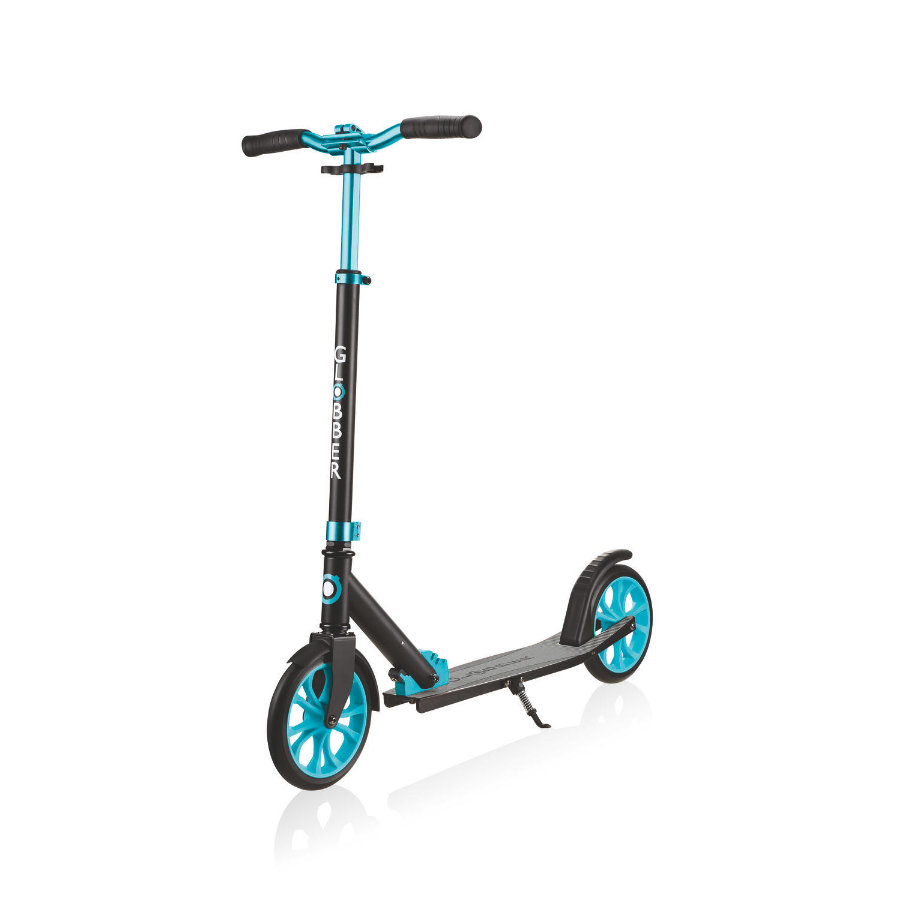 GLOBBER Scooter One NL500-205, schwarz-türkis