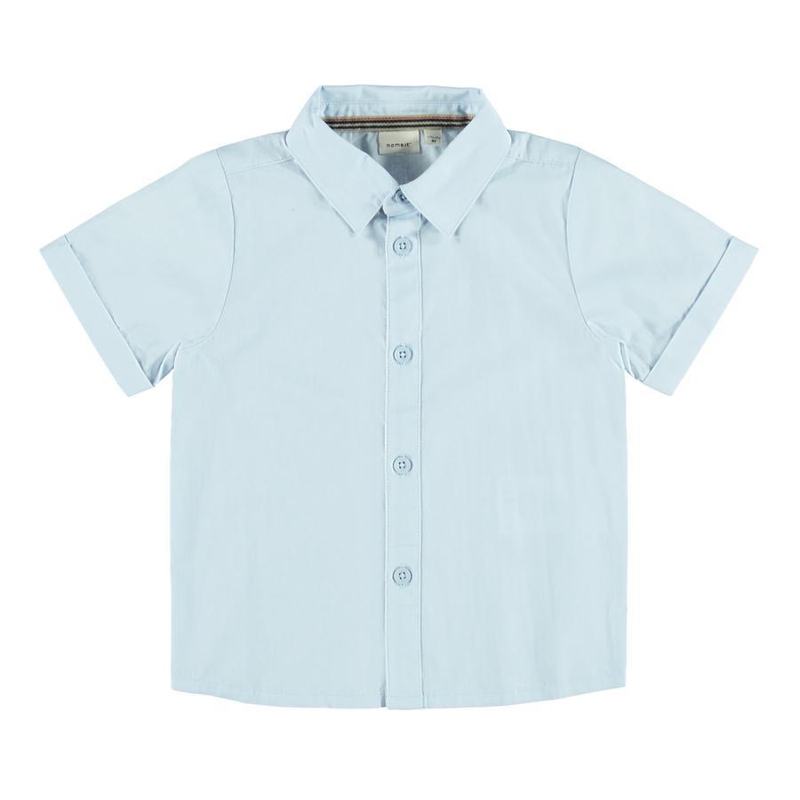 name it Camisa Nmmfredo Cachemira Azul