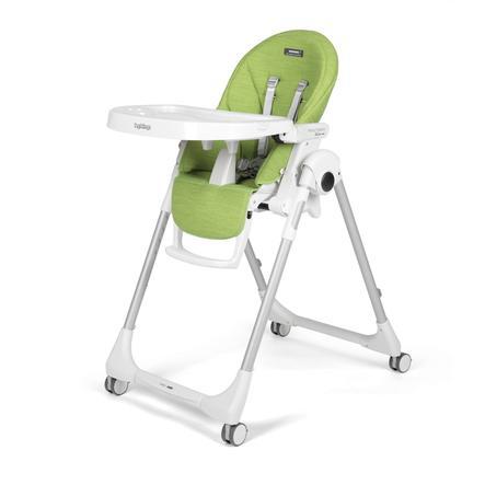 Peg Perego høy stol Prima Pappa Følg Wonder Green