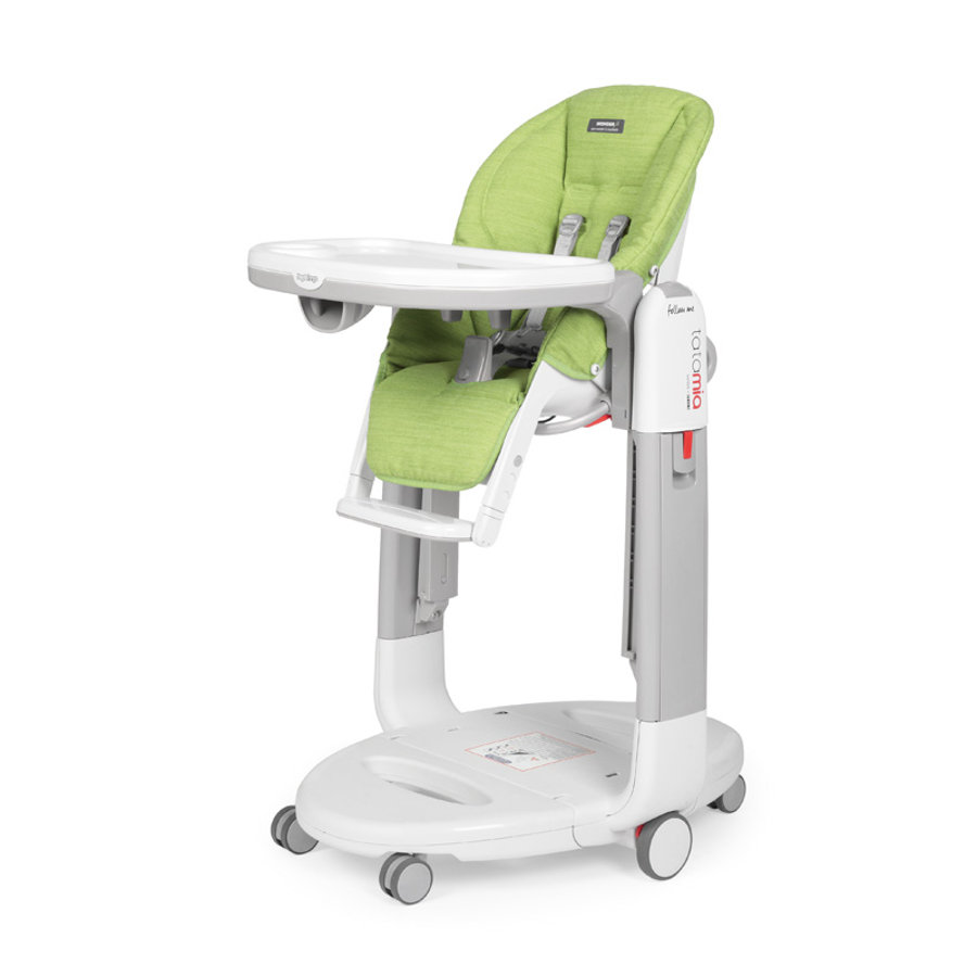 Peg Perego Chaise haute enfant Tatamia Follow Me Wonder Green