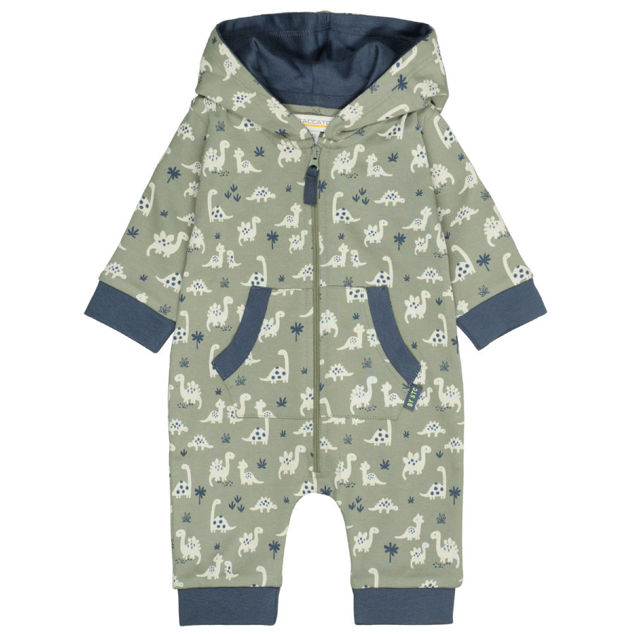 STACCATO Overall soft olive gemustert