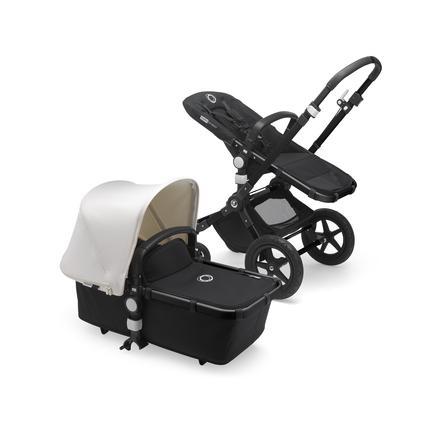 bugaboo Carro de bebé Combi Cameleon 3 Plus Complete Black / Black - Fresh White