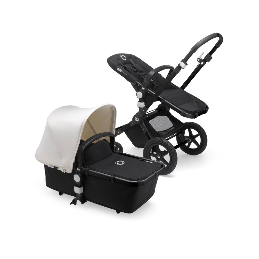 bugaboo Passeggino Duo Cameleon 3 Plus Complete Black / Black - Fresh White
