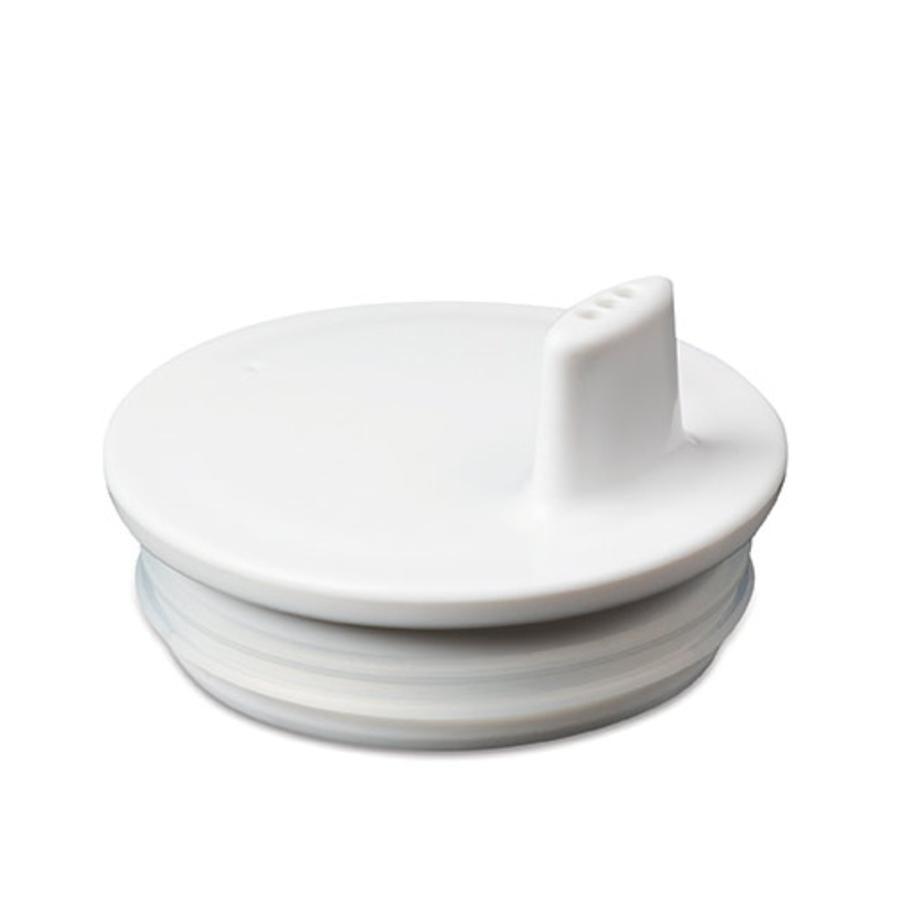 Design letters Trinkaufsatz für Melaminbecher in weiß