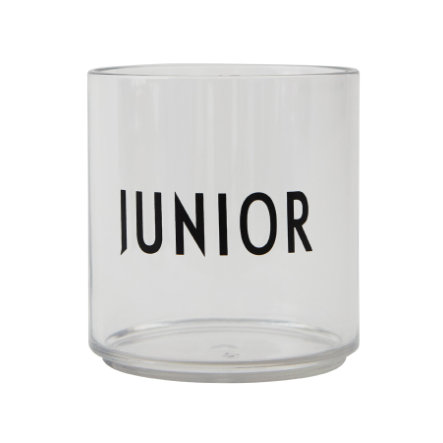 Design letters Kinderen die glas tritan transparant drinken JUNIOR