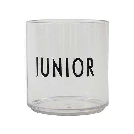 Design letters Los niños que beben el tritón de vidrio transparente JUNIOR