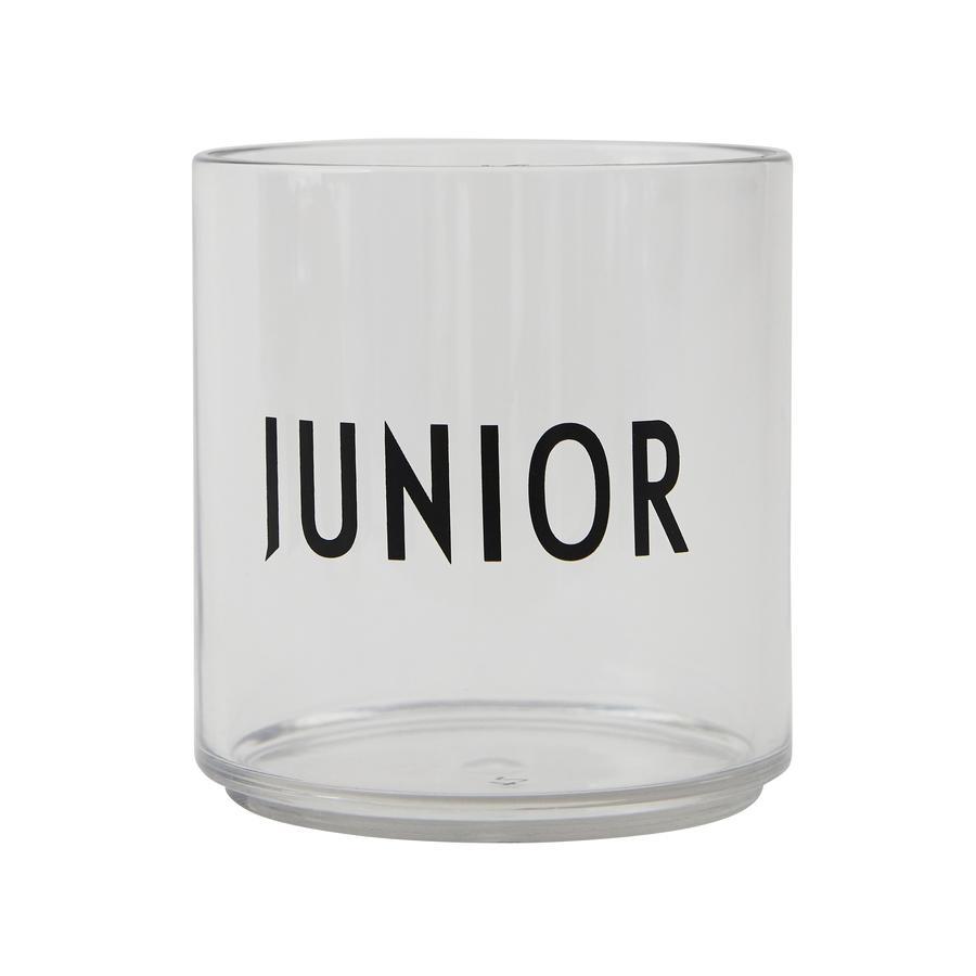 Design letters Bicchiere per bambini in vetro tritan trasparente JUNIOR
