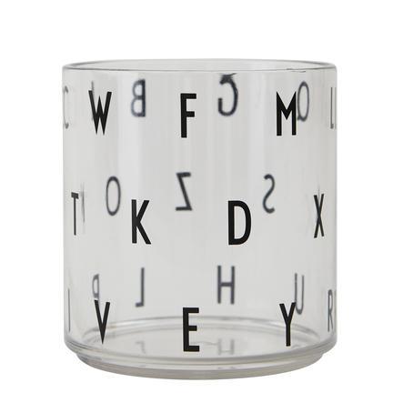 Design letters Los niños que beben cristal tritan letras transparentes