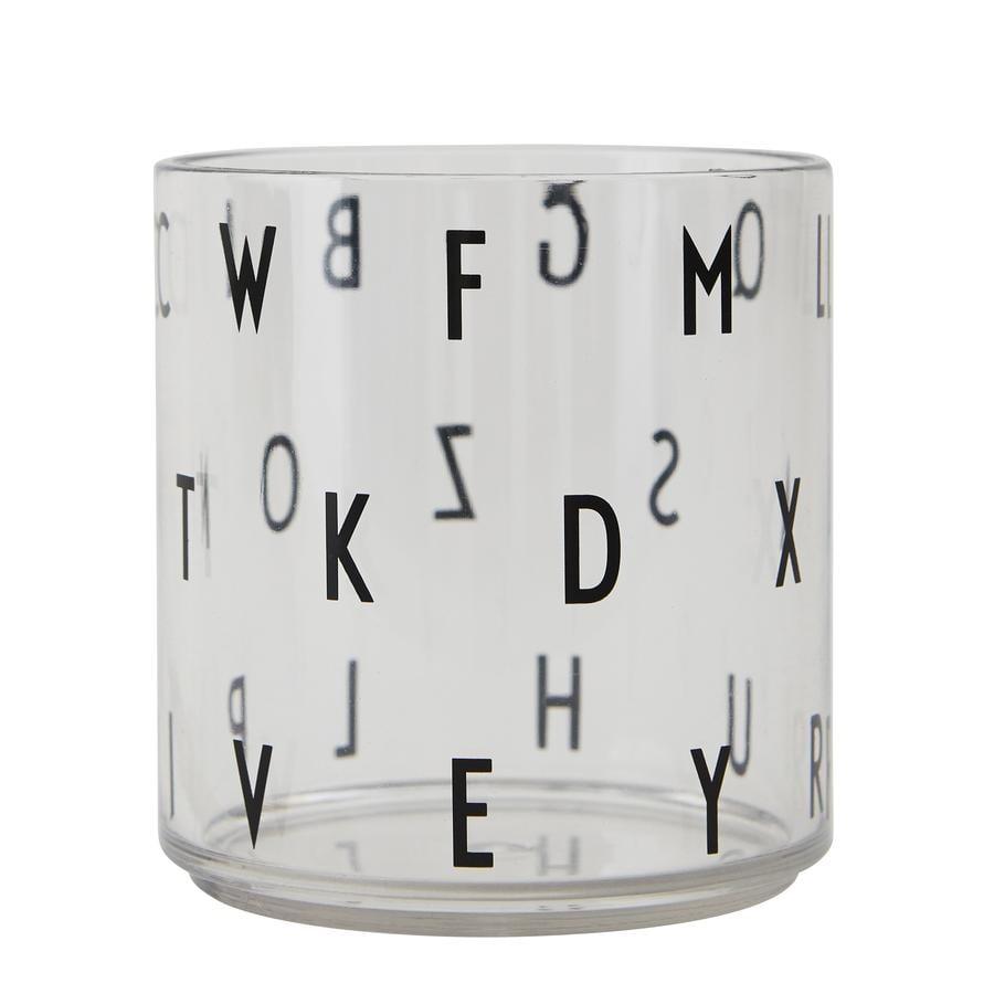DESIGN LETTERS drikkeglass for barn glass transparent bokstaver