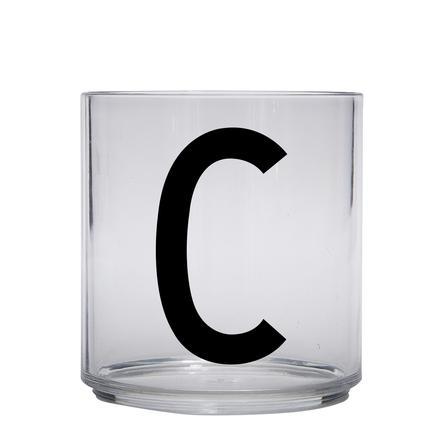 Design Letters personligt drikkeglas til børnebrev