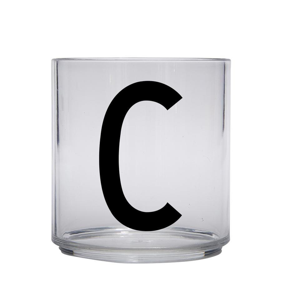 Design letters Indywidualna szklanka do picia dla dzieci litera
