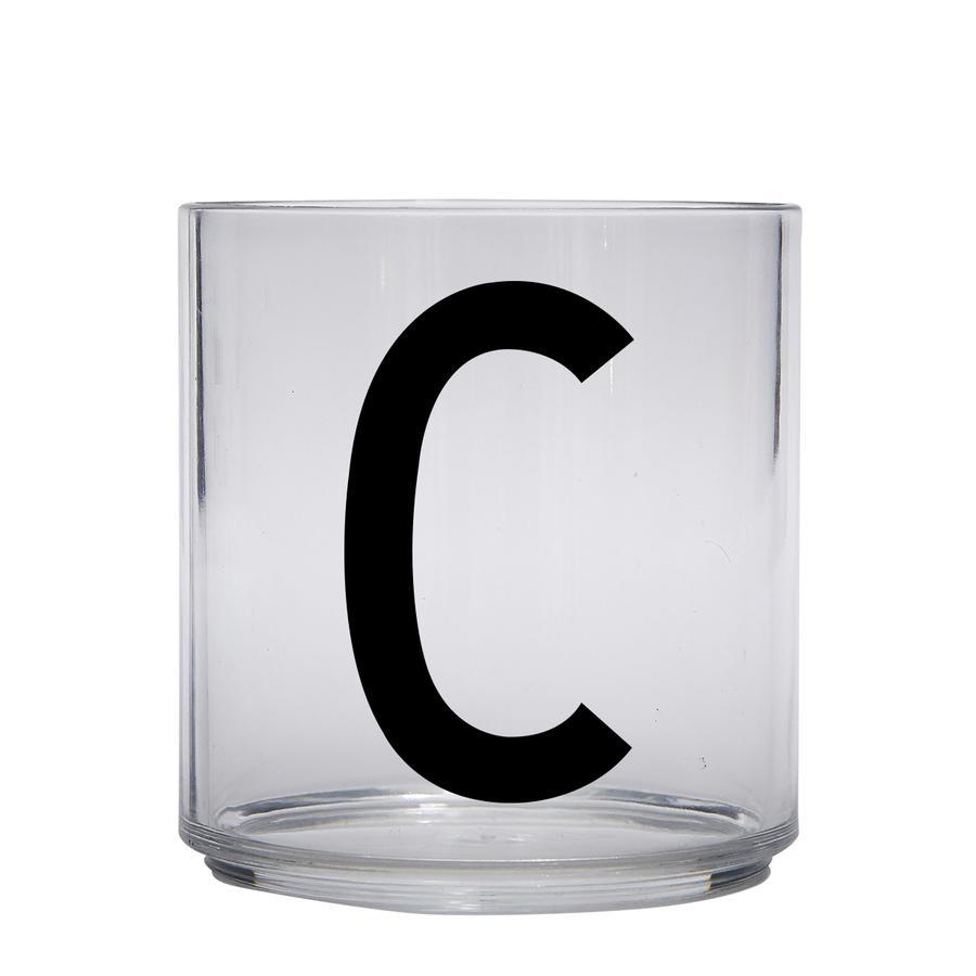Design letters Verre enfant personnalisé tritane lettre C