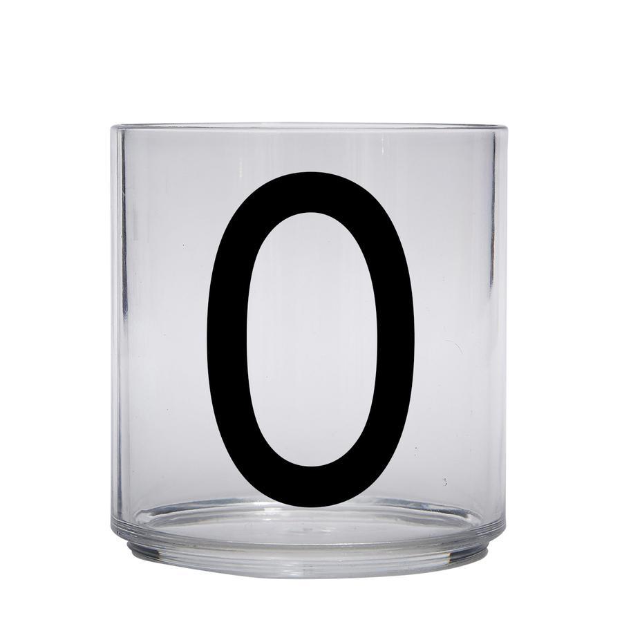 Design letters personalisiertes Trinkglas für Kinder Buchstabe O