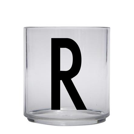 Design letters personalisiertes Trinkglas für Kinder Buchstabe R