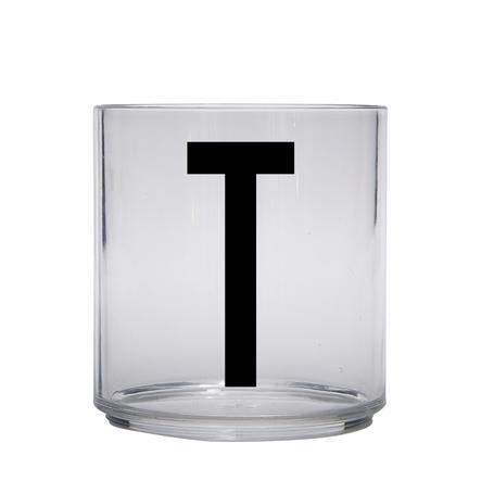 Design letters Verre enfant personnalisé tritane lettre T
