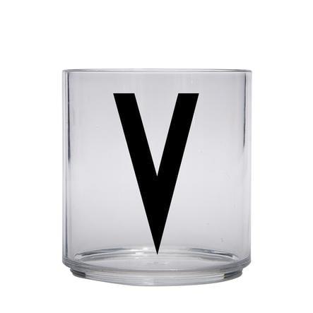 Design letters gepersonaliseerd drinkglas voor kinderen letter