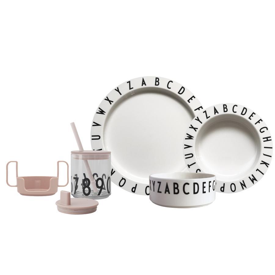 Design letters Starter Set EAT&LEARN Tritan in nude