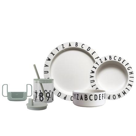 Design letters Starter Set EAT&LEARN Tritan in grün