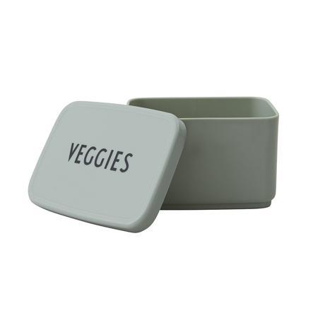 Design letters Snack Box in grün