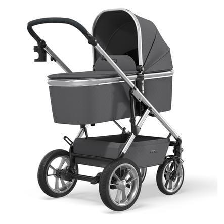 MOON Carro de bebé Combi Nuova Silver /Anthrazit Collection 2021